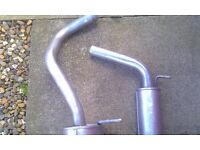 exhaust system from cat back Skoda fabia 6y and other cars