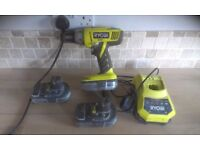 ryobi drill batteries and charger