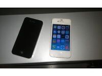 iphone 4 & 4s for spare or repairs