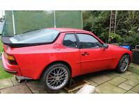 Porsche 944 chevy v8 conversion upgraded BREAKING FOR PARTS