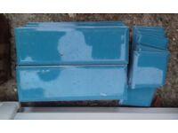 Rectangle Blue Tiles