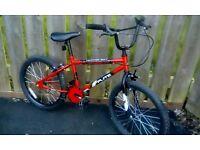 "Boys bmx bike Age 8+ 20"" wheels"