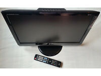 """LG M228WDP 22"""" Widescreen, LCD Monitor/TV with Freeview, HD, 1680x1050px, remote control"""