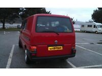 VW T4 camper van (lowest mileage you will find on a T4) superb condition