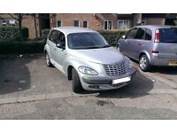 URGENT-2002 CHRYSLER 51 REG Auto PT CRUISER 2,0 LIMITED EDITION SILVER ONLY 67k. Mot at buyer's cost