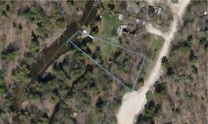 River side .5 acre lot for sale in West Grey Ontario