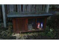 Rabbit hutch and rabbits