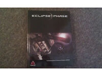 Eclipse Phase rpg gamebook hardcover