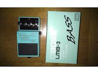 Boss LMB-3 Limiter Enhancer pedal
