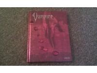 Vampire The Requiem rpg gamebook hardcover