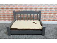 handmade dog bed with memory foam mattress