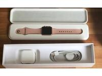 Series 1 Apple Watch 38mm lavender pink sand sports band