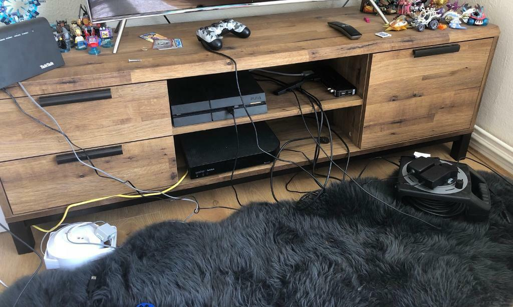 new arrival d4039 a65f3 Bronx wide TV stand from Next | in Llandeilo, Carmarthenshire | Gumtree