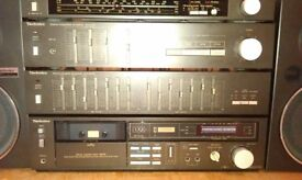 Technics vintage hifi system Separates stack System