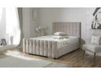BRAND NEW KINGSIZE PURPLE BED