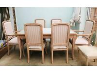 Beautiful detailed dining table, elegant and authentic