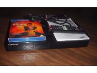 SAMSUNG BD-F6500 3d SMART BLU-RAY PLAYER WITH WI-FI & extras !!