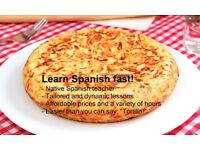 Hola, hola! Spanish lessons by a native speaker