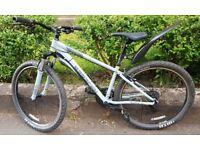 Mountain Bike Hard Tail MTB with Helmet, Pump and Padlock