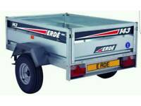 Erde style car trailer wanted