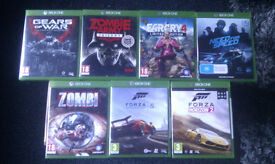 Xbox one games £10 each collected from smethwick NOT xbox 360 ps3 ps4