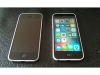 x2 iPhone 5C White
