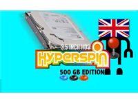 Hyperspin 500GB Internal 3.5 INCH Desktop Hard Drive Arcade