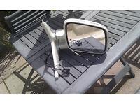 VW T4 camper van mirror + mount drivers white