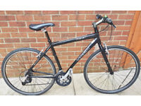 trek 7.3fx hybrid/commuter bike - 24 speed - new parts including all new brakes