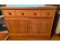 Large pine sideboard / cabinet