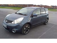 2013 Nissan Note N-Tec+ 1.5 Dci Diesel Manual Blue