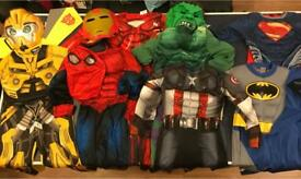 Fancy Dress Costumes, 3-4 years old - £3 each