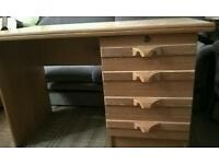 Desk solid wood