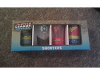 Justice League shot glasses collectible