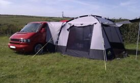 KHYAM MOTORDOME CLASSIC drive away awning. Mint condition. Used once.