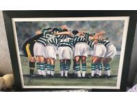 Celtic Huddle Picture/Print- Jim Scullion