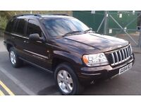 JEEP GRAND CHEROKEE 2.7 CRD LIMITED 2004