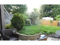 Easy walking distance from East Acton Station, private rear garden, available now!