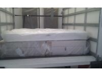New King-Size Divan Bed Sets with Storage Drawers & Airsprung Mattress. Can Split. FREE DELIVERY.