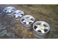 Set of 4 Cantori 16s for BMW E36/E46 deep dish drift Alloys Wheels