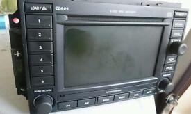 CHRYSLER JEEP DODGE COMPATIBLE MEDIA SAT NAV UNIT DVD/CD/MP3/HDD BZCY602A MODEL NO: 05064191AD