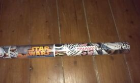 BNWT Star Wars wall paper, unopened