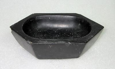 Antique Old Collectible Hand Carved Indian Real Touchstone Stone Mortar Pestle