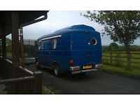 1984 608D Merc van converted into camper.Bought as a project ,now moving .£1750 ono