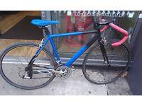 Raliegh 7005 t series aluminium road bike