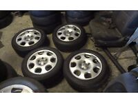 AUDI A6 C5 ALLOY WHEEL&TYRES 16 inch 205/55/16