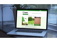 Free website for your gardening/tiling services