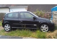 Black Renault Clio SPORT for sale