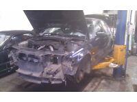 BMW E46 320d Saloon 4 door black breaking for parts