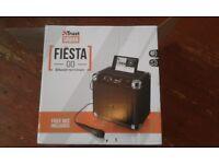 FIESTA GO URBAN REVOLT 40W PORTABLE SOUND SYSTEM, BLUETOOTH & MIC